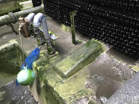 クーリングタワー汚泥