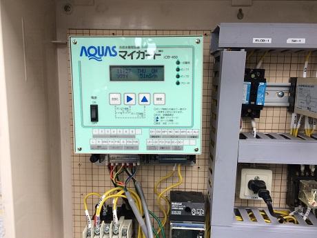 冷却水自動ブロー装置