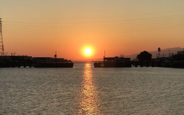 三池港光の航路