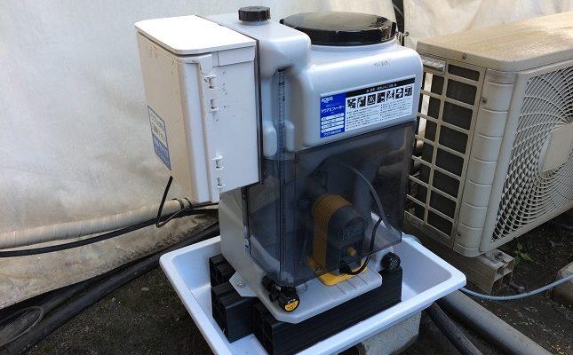 冷却水管理システムテスト機