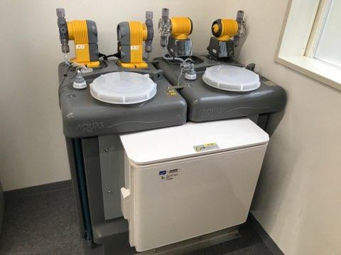 冷却水薬注装置