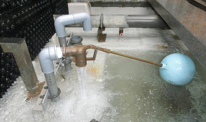 ボールタップ水漏れ