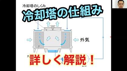 冷却塔の仕組み