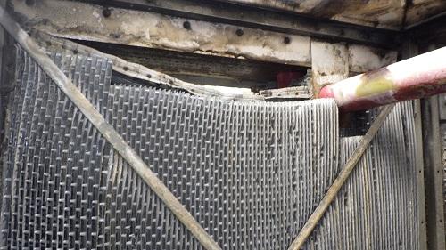 冷却塔充填材交換